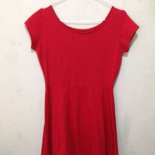 Cotton On Mini Red Dress