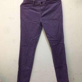 UNIQLO Purple Jeans