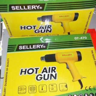 Alat pemanas hot gun sellery