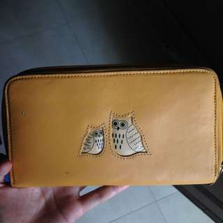 Yellow Owl Wallet