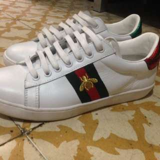 Auth Gucci ace sneakers