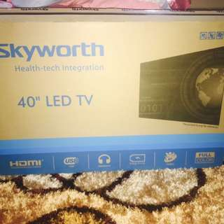 "SKYWORTH 40"" LED TV"