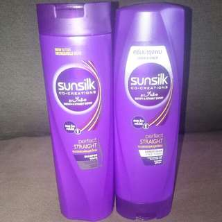 !!Sunsilk Perfect Straight Shampoo And Conditioner!!