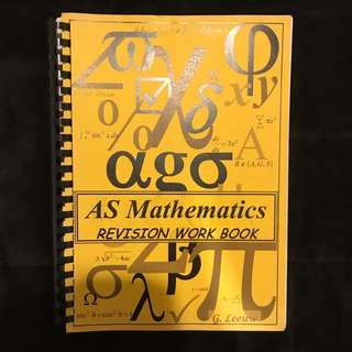 AS Maths Textbook