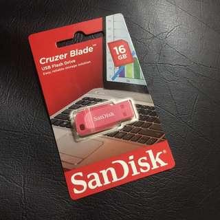 🌹SANDISK cruzer blade usb flash drive 16gb