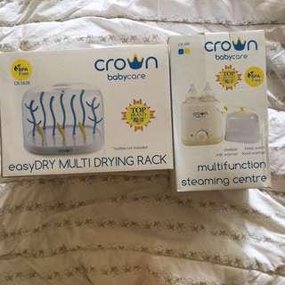 Crown Drying Rack & Crown Steamer & Sterilizer