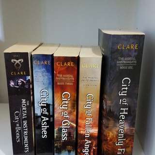 mortal instruments series. MISSING book 5