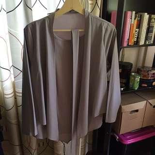 Grey blouse (freesize)