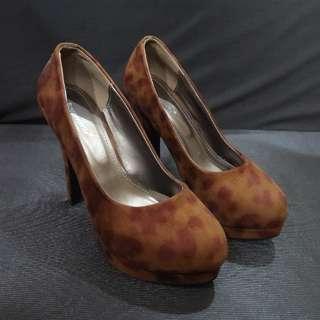 Leopard Chocolate Heels