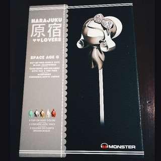Monster Earphones Harajuku Lovers Space Age