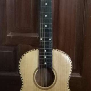 small sized guitar