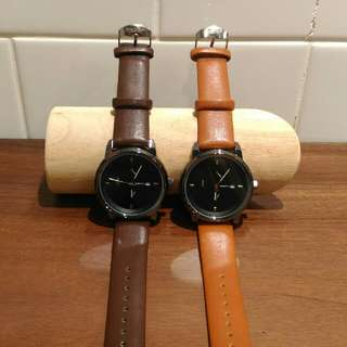 Men's Classic Leather Watches
