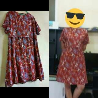 Dress Batik Allsize