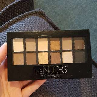 *NEW* maybellines the nudes eyeshadow pallette