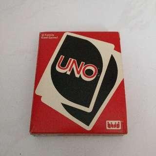 UNO vintage cards