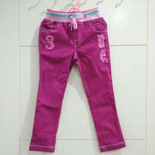 Brand New Fila Girl Pink Jeans