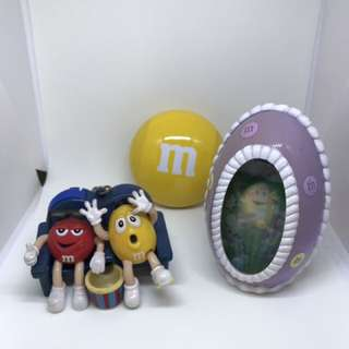 M & M's little box gadgets keychain 小盒 玩物 匙扣