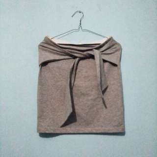 Straight Grey Skirt Colorbox