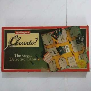 Cluedo? The Great Detective Game! Must play game!