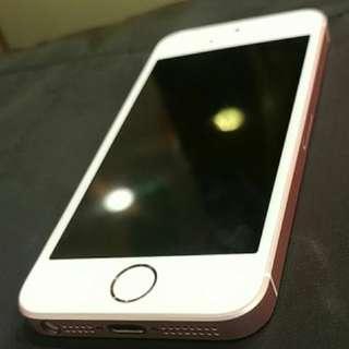 iphone se 16G  粉色 近新