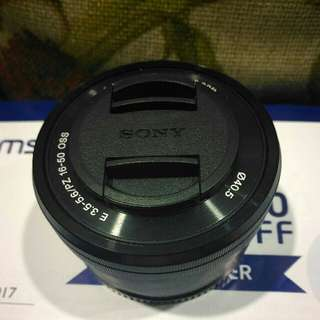 Sony E Mount 16-50mm OSS (SELP1650)