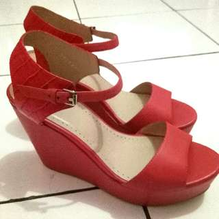 BPrivate Leather Wedges