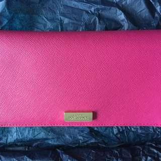 Kate Spade Wallet - hot pink