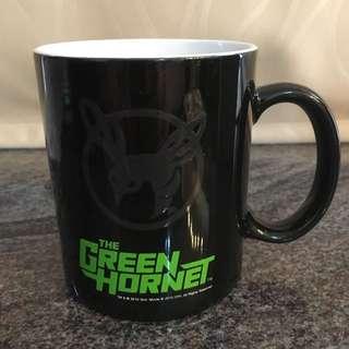 青蜂俠 The Green Hornet 黑色馬克杯連收藏鐵盒