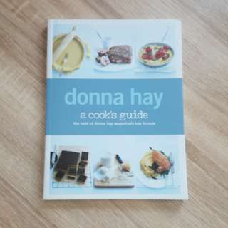 Buku resep Donna Hay: a cook's guide