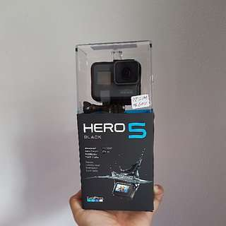 GoPro Hero 5 Black with Warranty and spare batteries