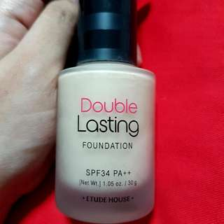 Etude House Double Lasting Foundation in Sand 30g SPF34 PA++