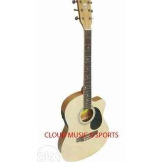 Lyon by Washburn 4EQ Acoustic Electric Guitar