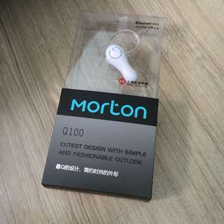 morton bluetooth headset