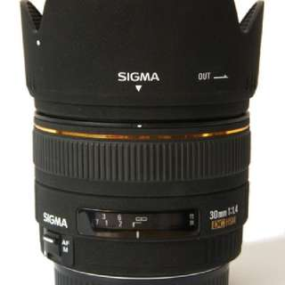 Sigma 30mm F1.4 EX HSM