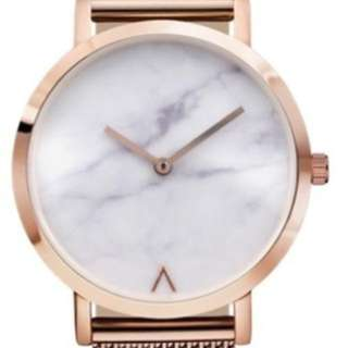 Marble rosegold watch