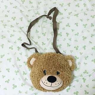 康是美 梨花熊 斜背包