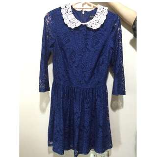 TOPSHOP Laced Dress