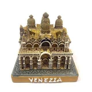 🇮🇹義大利購入🇮🇹Venezia 威尼斯 SAN MARCO 花之聖母大教堂 精緻擺飾