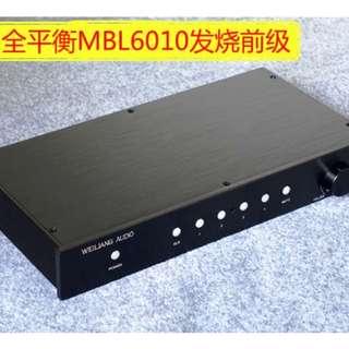 357.Breeze Audio全平衡附遙控器前級擴大機 超豪華版本特價1.3萬元/台