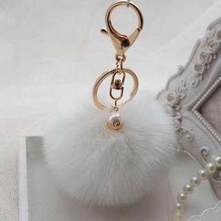 White Pearl Michael Kors Pom