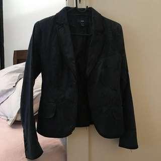 Goth blazer