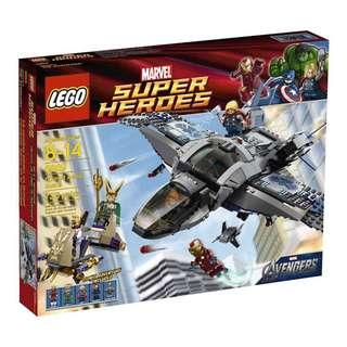 Lego Marvel Super Heroes Quinjet Aerial Battle 6869
