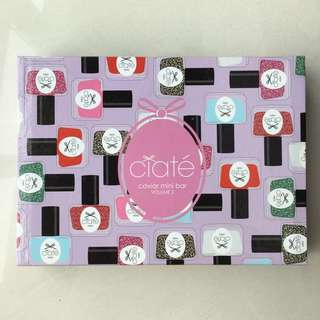 NEW Sephora Nail Polish Set Ciaté Caviar Mini Bar