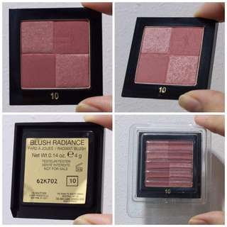 YSL Sample Blush Radiance in #10