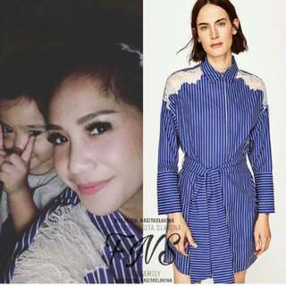 Dress Nagita Zara Look A Like boleh barter ya