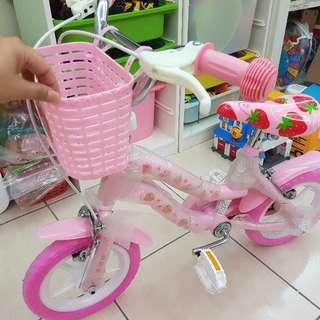 12吋幼兒腳踏車(附兩輪
