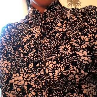 Chinese pattern cotton top/jacket
