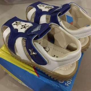 Blue star sandal