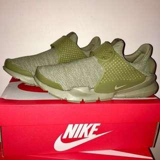 出清降價!全新 Nike Sock Dart Breathe Green 正品 墨綠 公司貨