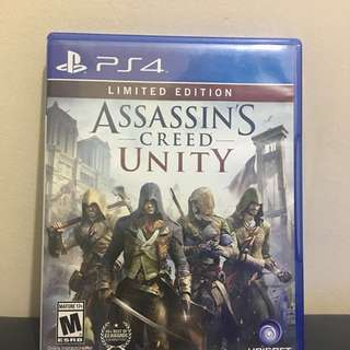 AC Unity PS4 Limited Edition